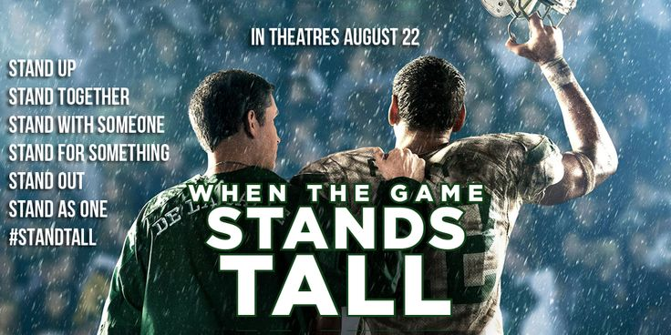 """Christian Fiction Addiction: Have your hanky handy: My movie review of """"When the Game Stands Tall"""""""