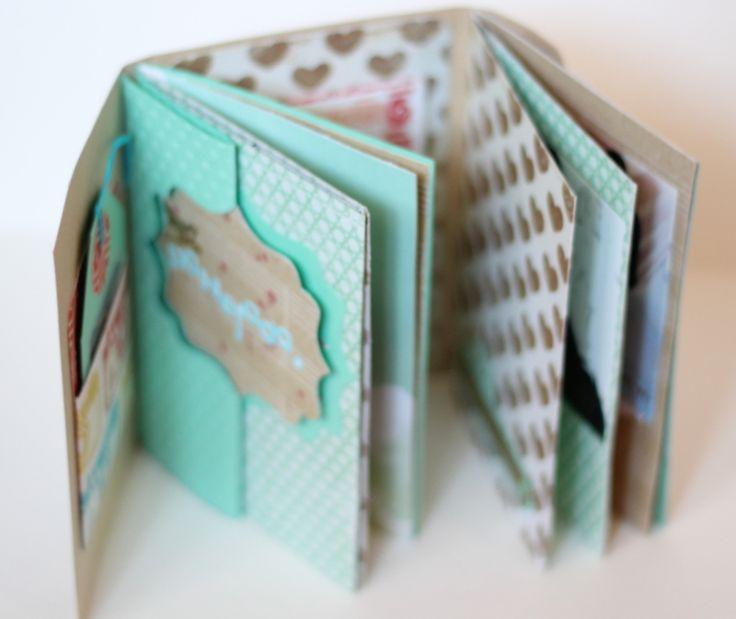 Mini Album Bon dia Xènia Crafts-001