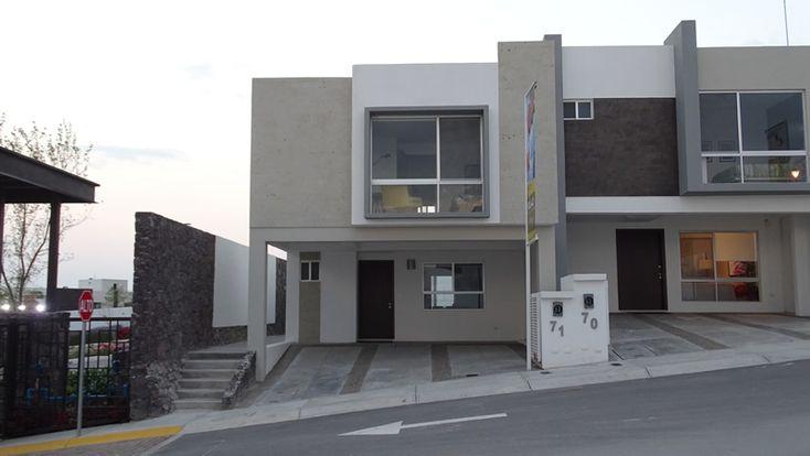Casas en Queretaro - Casas en Venta Querétaro Residencial Natura II Zibatá Casa Modelo Olivo