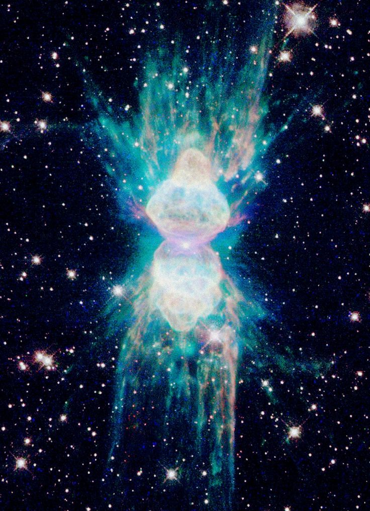 Arctic Ant Nebula   ESA/Hubble   Ant Nebula