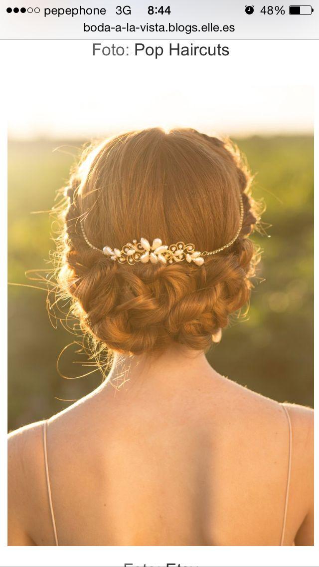 19 besten Braut Frisuren Bilder auf Pinterest