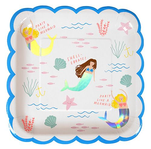 Visit Party Ark for beautiful mermaid themed party supplies. We have a whole ocean of mermaid themed party goodies.