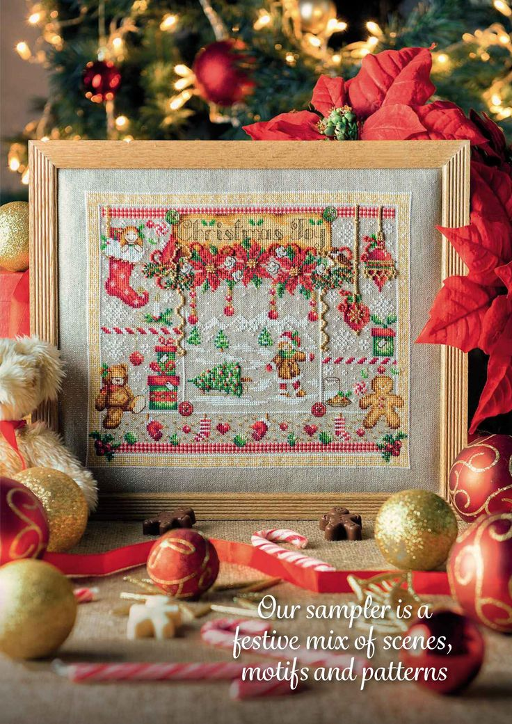 2 of 9 Christmas Joy From Cross Stitch Collection N°267 October 2016