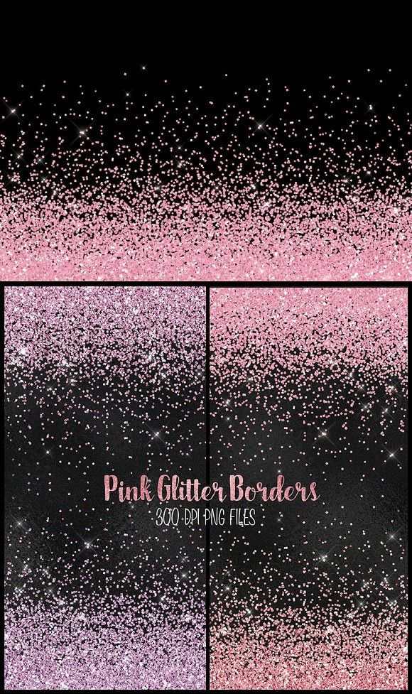 Pink Glitter Png Borders Red Glitter Wallpaper Pink Glitter Glitter Wallpaper