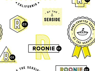 roonie co. logos by lindsay {s} thompson