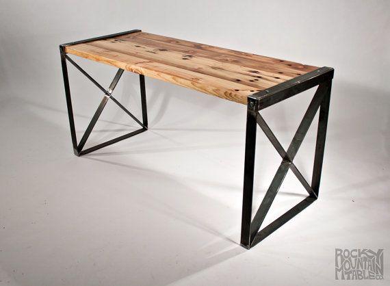 Reclaimed Wood Modern / Industrial Desk