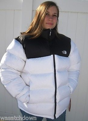 Nwt Rare North Face Nuptse Down Jacket 700 Xxl Over Stuffed Overfilled White 2xl With Images