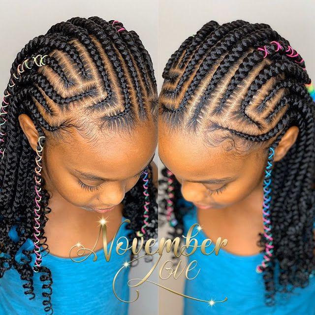 2020 Braided Hairstyles For Black Kids Hair Styles Black Kids Hairstyles Kids Hairstyles