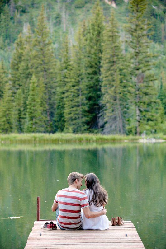 Fishing Date Engagement Photoshoot by Elisabeth Kate Photography