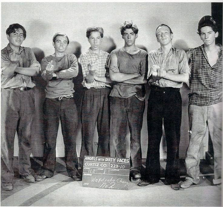 The Dead End Kids a.k.a. The Bowery Boys, The East Side Kids.