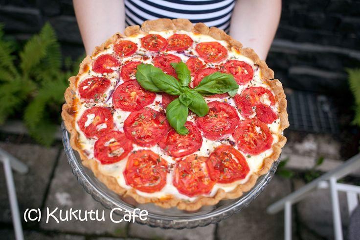 Tarta Z Kurczakiem Świeżymi Pomidorami