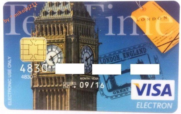 VISA - Card PREPAID GBP - Premium BZ WBK S.A. POLAND