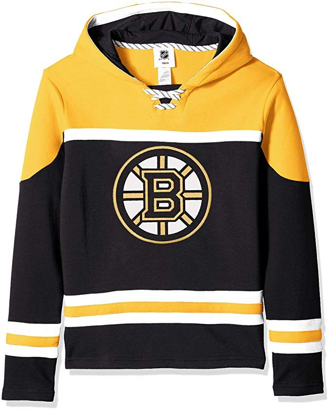 Nhl By Outerstuff Nhl Boston Bruins Youth Boys Asset Pullover Hockey Hoodie Black Youth Hockey Hoodie Nhl Boston Bruins Boston Bruins