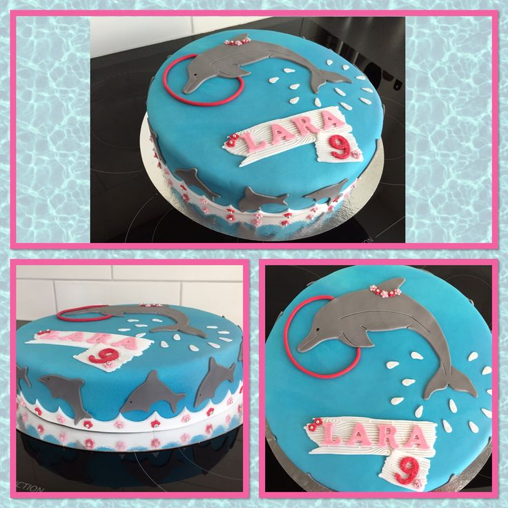 Dolfijnen taart