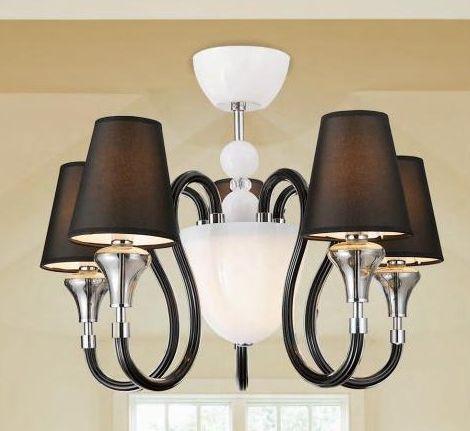 Lampa wisząca CHANDELIER Zuma Line MC2070-5BL - Cudowne Lampy