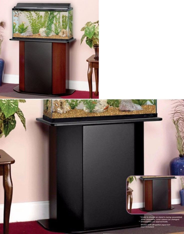 Aquariums and Tanks 20755: Deluxe 20-29 Gallons Aquarium Stand Storage Cabinet Fish Tank Holder Wood Door -> BUY IT NOW ONLY: $95.58 on eBay!
