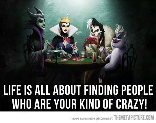 Wicked Wednesday  ---> The Disney Princesses get together for slumber parties. The villans merely play poker. (December 11)