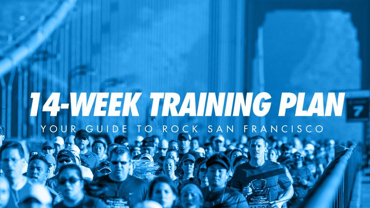 Whether you're new to running or you're coming back from an extended break, this half marathon training plan will get you ready to rock San Francisco!