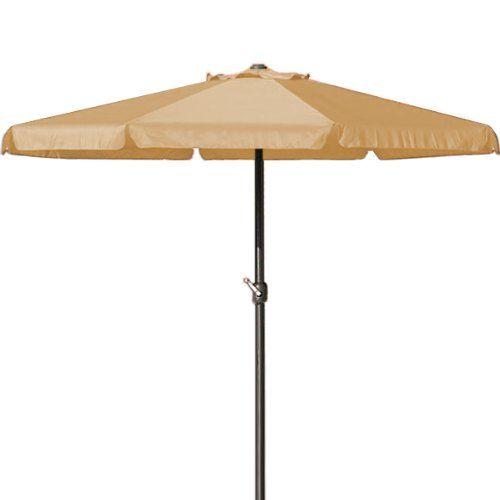 http://ift.tt/1NxKFPE Sonnenschirm 35 m mit Kurbel in Beige  Marktschirm Gartenschirm Sonnenschutz ! salesviiko@