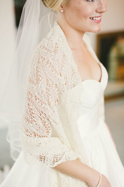 Crochet Lace Wedding Shawl Pattern : Best 25+ Wedding shawl ideas on Pinterest Winter wedding ...