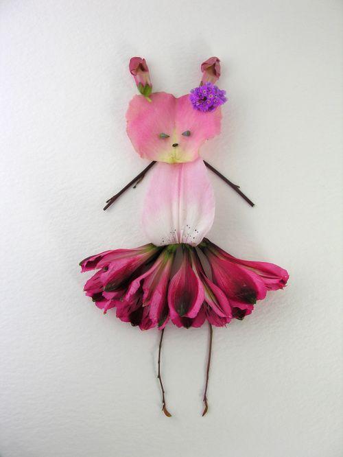 Regina in flower tutu