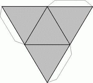 Prismatriangular,recortable figuras geometricas bidimensionales