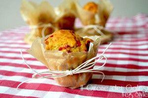 Muffin Pesto e Peperoni