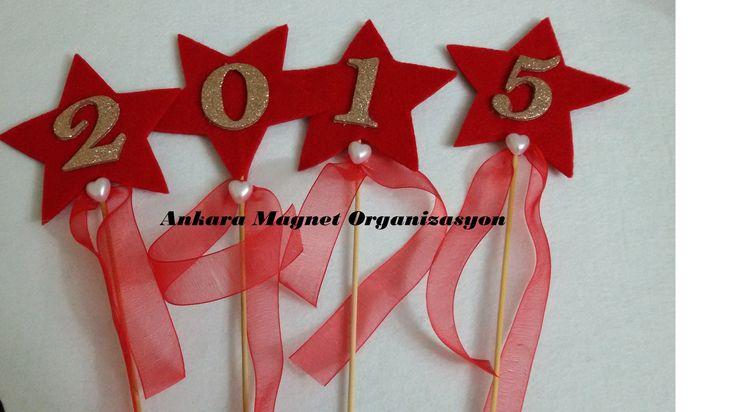 keçe yeni yıl çubukları