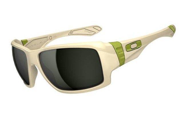 Oakley Big Taco Matte Bone Dark Grey Sunglasses $36.75 http://www.bigbootshotsale.com/