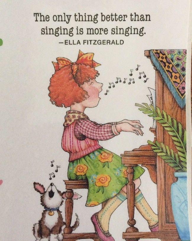 Handmade Fridge Magnet-Mary Engelbreit Artwork-The Only Thing Better #MaryEngelbreit