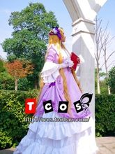 Gosick Cosplay Victorique De Blois Lolita Costume Women's Dress Long Skirt Gothic Look Gosurorifuku Gown Rode //Price: $US $69.99 & Up To 18% Cashback //     #steampunk