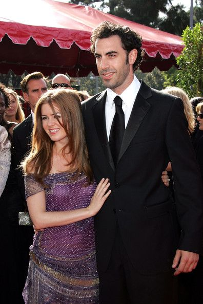 Then: Sacha Baron Cohen and Isla Fisher - Longtime Celeb Couples Who Made It - Photos