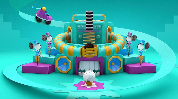 Play With Oreo on Behance
