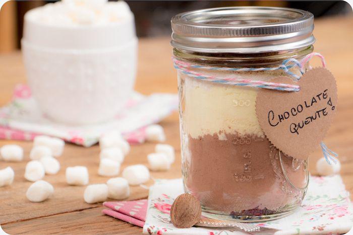 Chocolate quente no pote | Vídeos e Receitas de Sobremesas