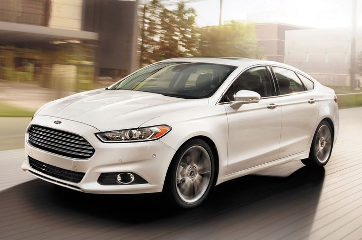 The car that has everyone talking. The stunning, stylish, innovative #FordFusion in white