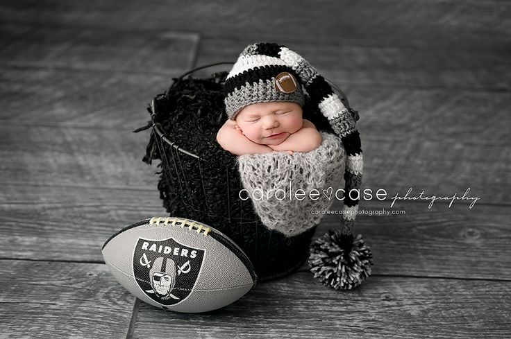 Future Raiders Fan!!!!  Caralee Case Photography.