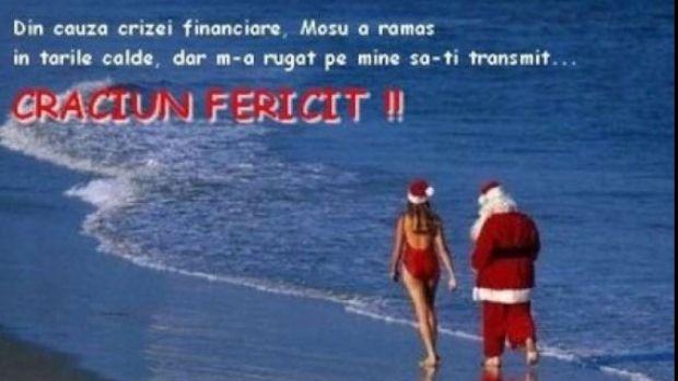 Cu ocazia sărbătorilor de iarnă, mii de români trimit mesaje de Crăciun şi îşi fac urări serioase sau amuzante.