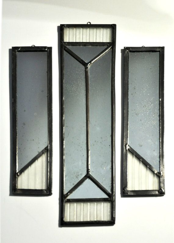 stained glass decorative mirrors by glassattacks on Etsy