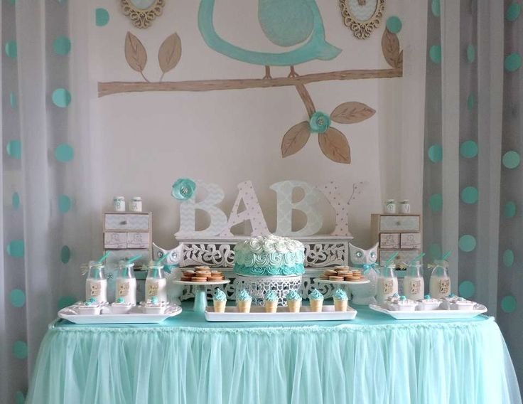 1000 images about tea party stuff for kids or even adults on pinterest b - Idee deco baby shower ...