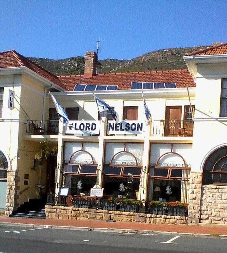 The Lord Nelson Inn. Simon's Town. Gorgeous little spot!