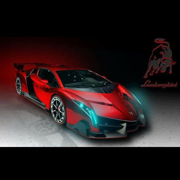 Lamborghini Veneno In Devil Form. Sexy!