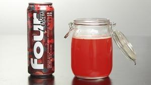 Blood Four Loko? Looks like it belongs in Rattlestick's Massacre - LOVE IT!!!