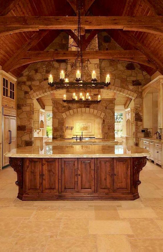 The 25 best old world kitchens ideas on pinterest old world old world style and oak cabinets Old world tuscan kitchen designs