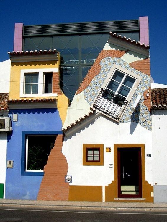 Charmante Häuser auf der Iberischen Halbinsel