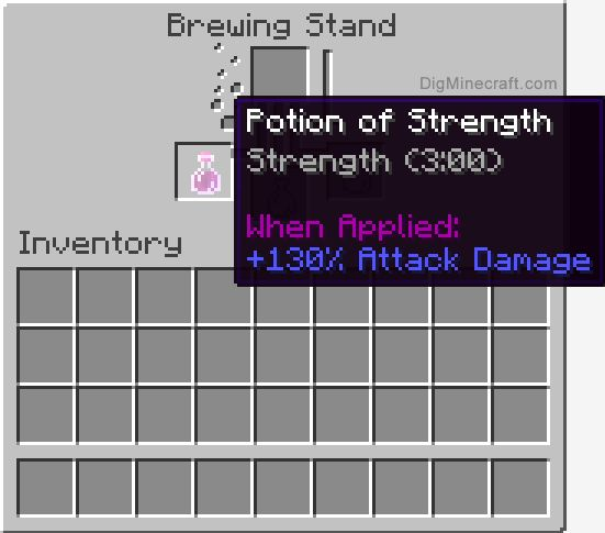how to make potions in minecraft with a brewing stand