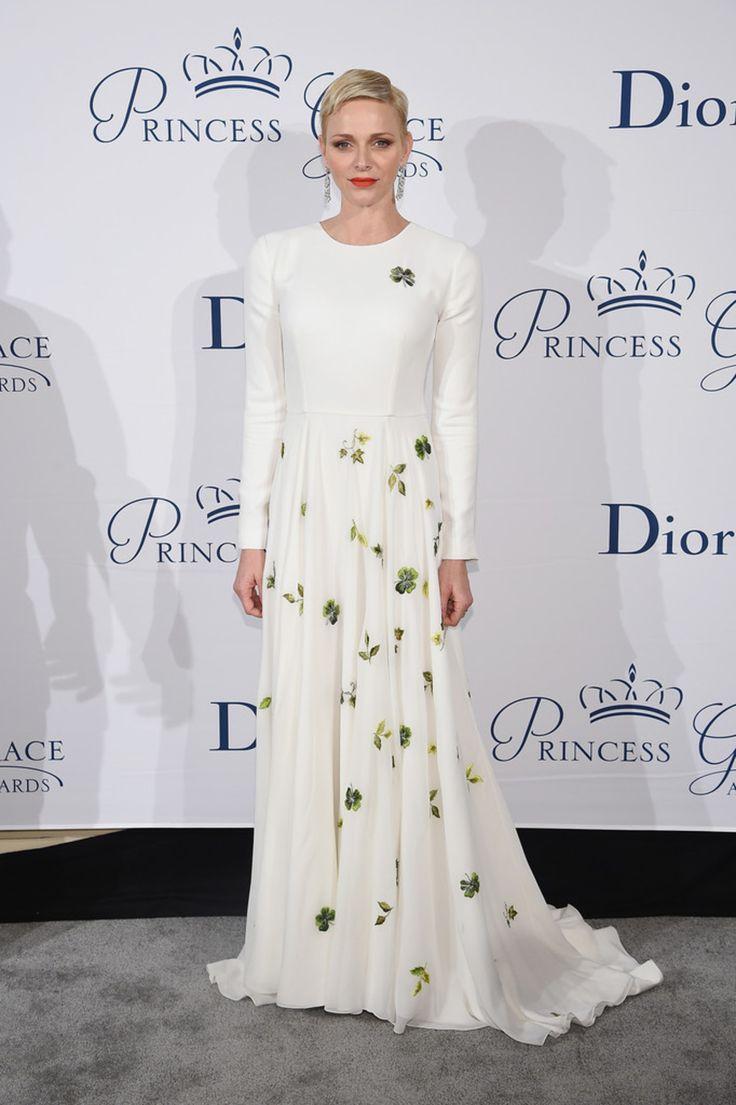 "LE PRINCE ALBERT II ET LA PRINCESSE CHARLENE DE MONACO "" DINER DE GALA PRINCESS GRACE "" - PRINCESS MONARCHY"