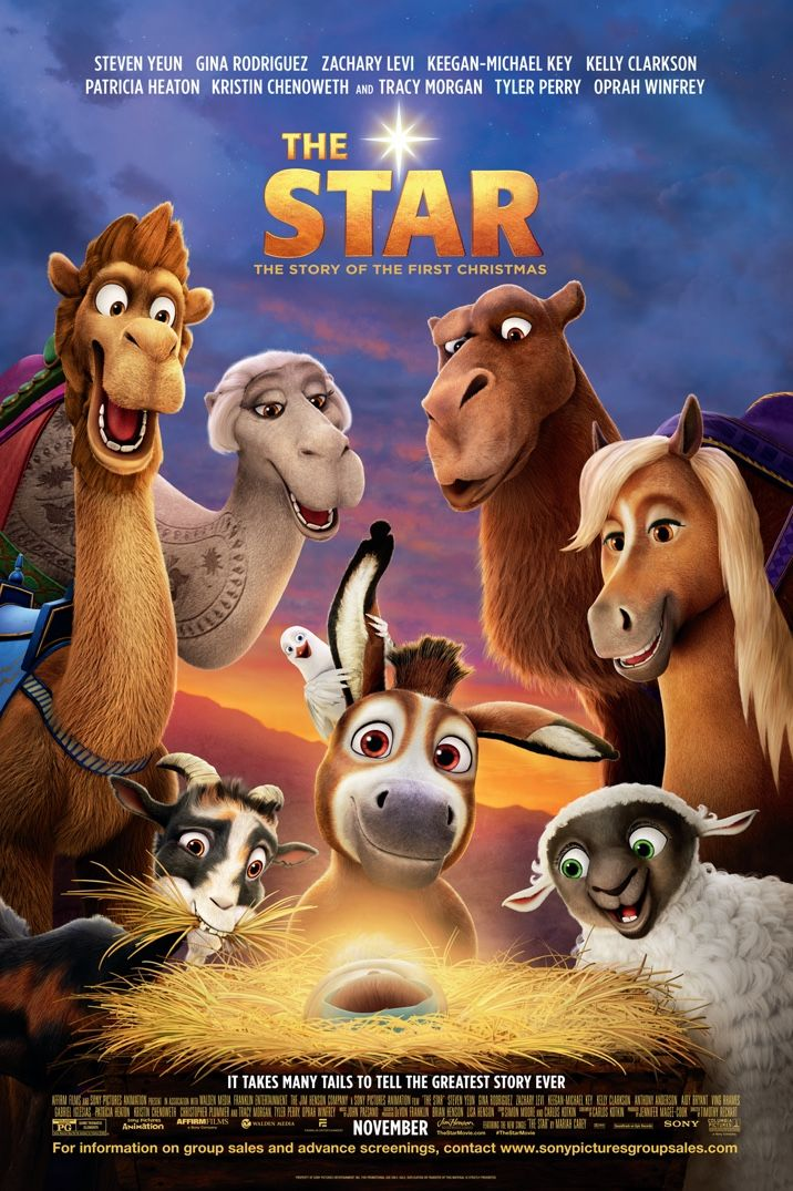 """Christian Fiction Addiction: Your family will LOVE the new movie """"The Star""""!!!"""