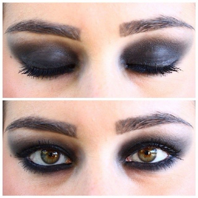 #instamakeup #makeup #trucco #eyes #smokey #black #igaaddicted #instapic #instagrammer #scattiitaliani #italiangirl #ragazzeitaliane #cool #instacool #igers #swag #instagood #luigia #luisa