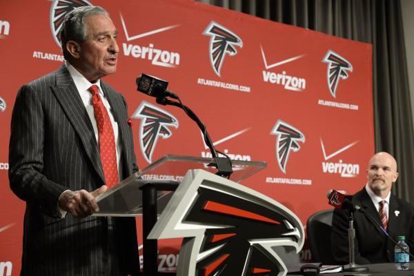 Atlanta Falcons owner Arthur Blank now cancer-free - UPI.com