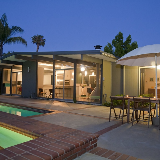 1000 images about eichler homes on pinterest for Eichler paint colors